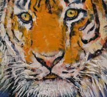 Gentleman Tiger Sticker