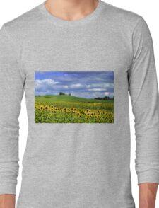 Tuscany landscape Long Sleeve T-Shirt