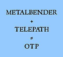 METALBENDER + TELEPATH = OTP by Caitlin Hallam