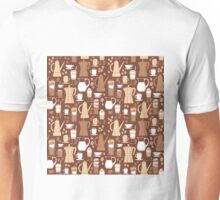 Coffee Pattern  Unisex T-Shirt