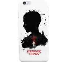 Stranger things Painting iPhone Case/Skin