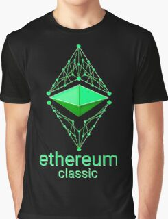 Ethereum Classic Made of Green Graphic T-Shirt