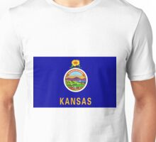 Kansas Flag Unisex T-Shirt