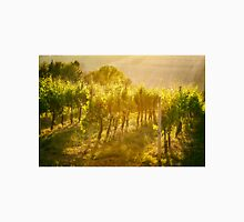 Vineyard rows in Marche, Italy Unisex T-Shirt