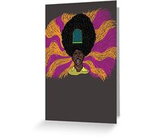 The Mighty Boosh - Rudi van DiSarzio - Rudy - Psychedelic Monk Greeting Card