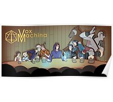 To Vox Machina Poster
