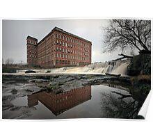 Paisley anchor mills Poster