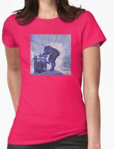 Grape Crusher Womens Fitted T-Shirt
