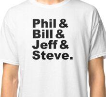 Nike names (black) Classic T-Shirt