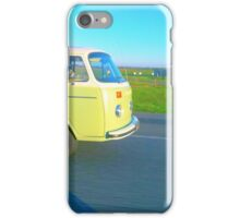 Green Combie Van iPhone Case/Skin
