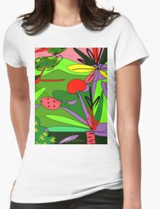 Selva #5 Womens Fitted T-Shirt