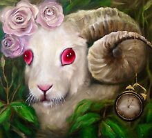 The white rabbit by mmarley