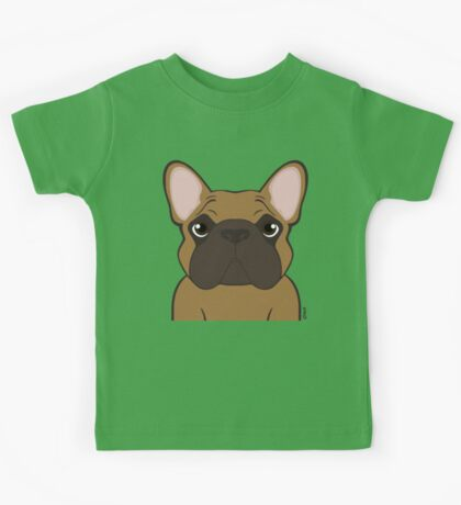 Frenchie - Fawn  Kids Tee