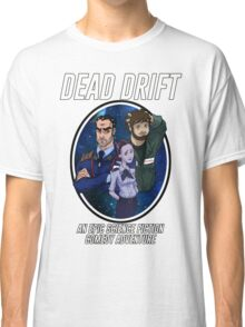 Cartoon Dead Drift by Davie Kizdar Classic T-Shirt
