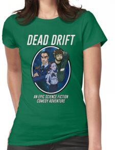 Cartoon Dead Drift by Davie Kizdar Womens Fitted T-Shirt