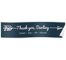 Thank You, Darling Poster