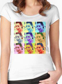 Kim Kardashian Crying Women's Fitted Scoop T-Shirt