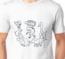Cretaceous Critters Unisex T-Shirt