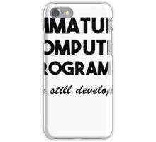 Programmer iPhone Case/Skin