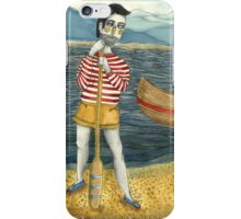 Canoe Man iPhone Case/Skin