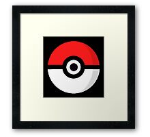 Pokeball Logo Framed Print
