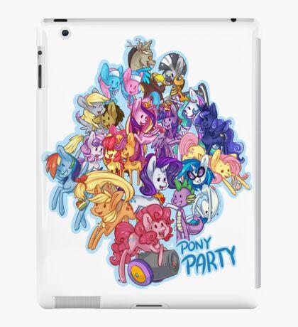Pony Party iPad Case/Skin