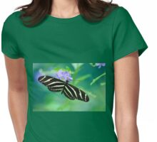 Zebra Longwing - Heliconius charitonia Womens Fitted T-Shirt