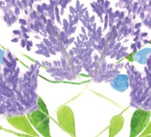 Lavender Floral Sticker