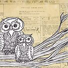 Owls 45 by kewzoo