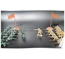 Nation vs Nation plastic soldiers Poster
