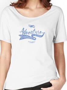 Adventure Quote 2 Women's Relaxed Fit T-Shirt