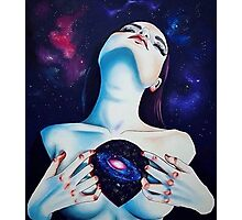 Space heart Photographic Print