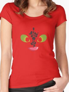 How To Train Your Dragon Cute Baby Dragon Women's Fitted Scoop T-Shirt