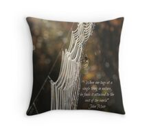 One tug Throw Pillow