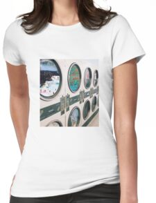 Time washing machine Womens Fitted T-Shirt