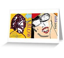 heavy hitters and golden slippers, losers winners moonbeams and ashcan heroes 2 Greeting Card