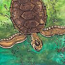 Trevor the Turtle by kewzoo