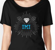 IMI Diamond Women's Relaxed Fit T-Shirt
