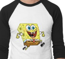 Sponge Bob Men's Baseball ¾ T-Shirt