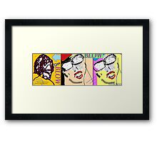 heavy hitters and golden slippers, losers winners moonbeams and ashcan heroes 3 Framed Print