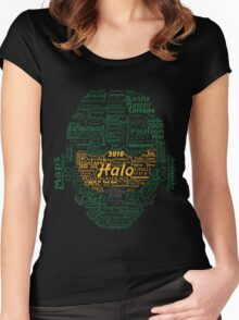 Master Chef Typographic Women's Fitted Scoop T-Shirt