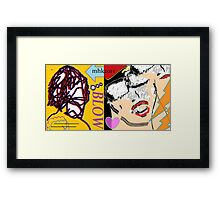 heavy hitters and golden slippers, losers winners moonbeams and ashcan heroes 4  Framed Print