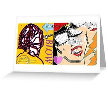 heavy hitters and golden slippers, losers winners moonbeams and ashcan heroes 4  Greeting Card