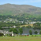 Bank Ground Farm (Holly Howe), Coniston Water & Coniston Old Man, Lake District National Park, Cumbria, UK by Philip Mitchell
