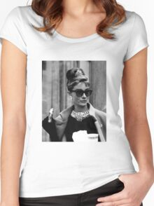 Breakfast at Tiffany's Women's Fitted Scoop T-Shirt