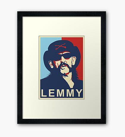 lemmy kilmister Framed Print