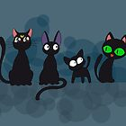 Kuro Cats by thedustyphoenix