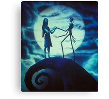 The nigtmare before christmas Canvas Print