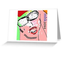 heavy hitters and golden slippers, losers winners moonbeams and ashcan heroes 6 Greeting Card
