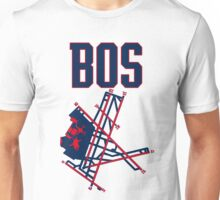 Boston Airport Unisex T-Shirt